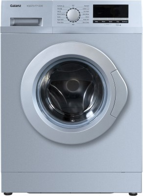 Galanz 7 kg Quick Wash Fully Automatic Front Load with In-built Heater Silver (XQG70-F712DE)