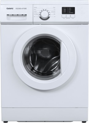 Galanz 6 kg Quick Wash Fully Automatic Front Load with In-built Heater White  (XQG60-A708E)