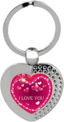 Sky Trends Gift Valentine's Day is a time when people show feelings of love, affection and friendship Keychain Gifts STG-211 Key Chain  available at flipkart for Rs.191