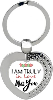 Sky Trends Gift Valentine's Day is a time when people show feelings of love, affection and friendship Keychain Gifts STG-130 Key Chain  available at flipkart for Rs.191