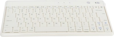 G & S Enterprises GSK01 Bluetooth Laptop Keyboard(White)