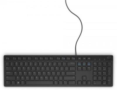 Dell KB 216 Wired USB Desktop Keyboard(Black)