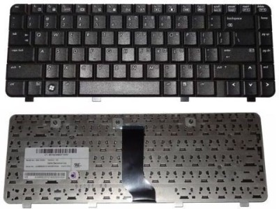 TechGear Replacement Keyboard For COMPAQ PRESARIO V3018CL V3018TU V3018US Wireless Laptop Keyboard Black