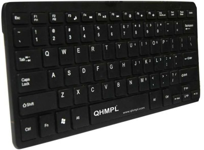 QHMPL QHM 7307 Wired USB Tablet Keyboard Black