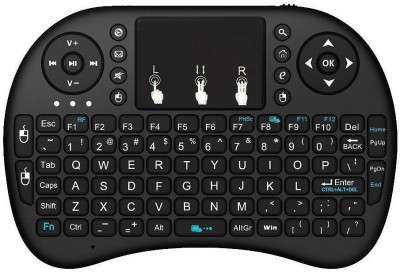 HiTechCart Keybordw1 Bluetooth, Wired USB, Wireless Laptop Keyboard Black HiTechCart Keyboards