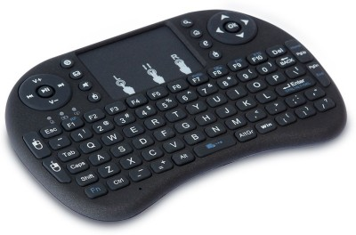 HashTag Glam 4 Gadgets HT 2.4 MINI TOUCH PAD 363 Wireless Tablet Keyboard Black