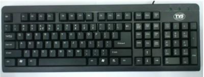 TVSE Champ Wired USB Laptop Keyboard Black TVSE Keyboards