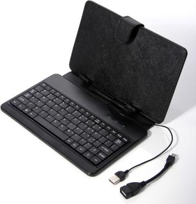 A Connect Z KBD-001-AcZ-105 Wired USB Tablet Keyboard(Black)