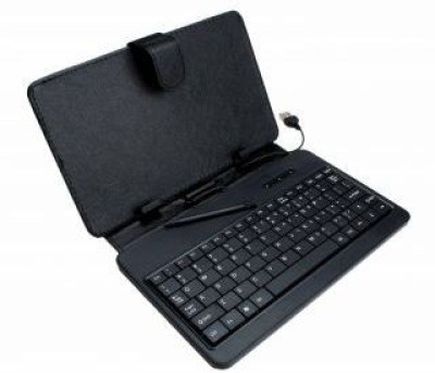 couponsmall key 343 Wired USB Tablet Keyboard Black