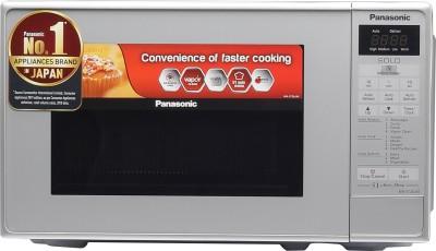 Panasonic 20 L Solo Microwave Oven(NN-ST26JMFDG, Silver)