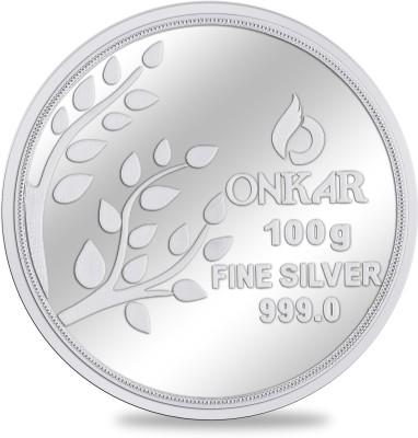 jplonkar silver coin 100 gm S 999 100 g Silver Coin jplonkar Coins   Bars