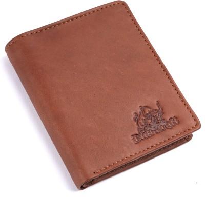 BullKraft Men Tan Genuine Leather Wallet 5 Card Slots BullKraft Wallets