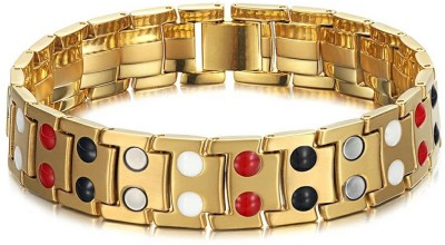 Impression Stainless Steel Gold-plated Bracelet