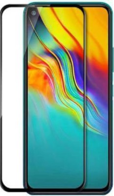 Krkis Edge To Edge Tempered Glass for Infinix Hot 9 Pro(Pack of 1)