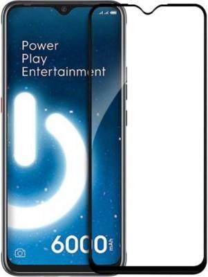 EASYBIZZ Edge To Edge Tempered Glass for Tecno Spark Power 2(Pack of 1)