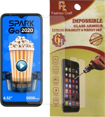 FashionCraft Screen Guard for Tecno Spark Go 2020(Pack of 1)
