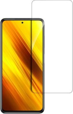 RVTCC Tempered Glass Guard for Poco X3(Pack of 1)