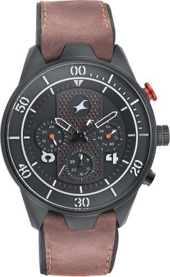 Fastrack NN3195AP01 All Nighters Analog Watch - For Men