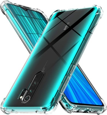 Cover Alive Back Cover for Poco M2, Mi Redmi 9 Prime(Transparent, Grip Case)
