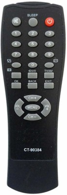ComC Television Remote Compatible for Toshiba LCD LED TV Remote Control Model No :- CT-90384 (Please Match The Image with Your Old Remote) LG Remote Controller(Black)