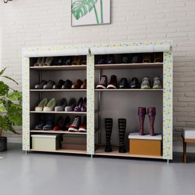 Flipkart Perfect Homes Studio Metal Collapsible Shoe Stand(8 Shelves)
