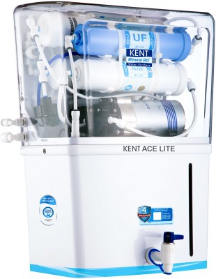 Kent Ace Lite 8 L RO + UF + TDS Water Purifier  (White)
