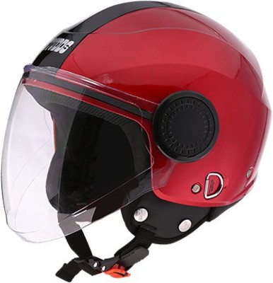 STUDDS Urban Open Face RED-XL Motorsports Helmet(Red)