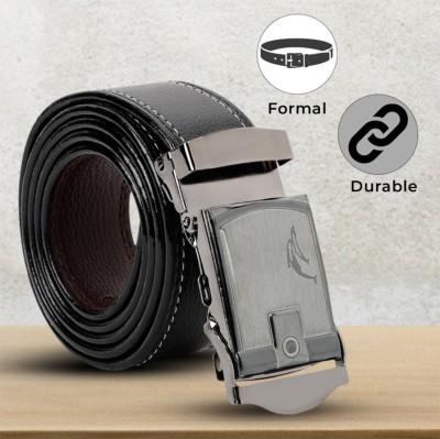 LOOPA Men Formal Black Synthetic Belt