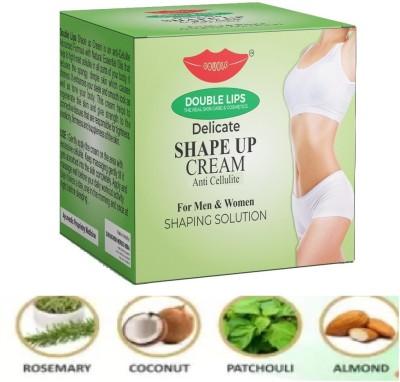DOUBLE LIPS Anti Cellulite Delicate Shape Up Cream 100 grm(100 g)