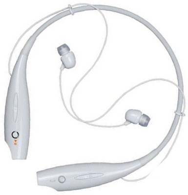 SULFUR wireless Neackband for RE_DM_I/Op-po/ VI-VO all mobile Bluetooth Headset(White, In the Ear)