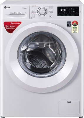 LG 6.5 kg Fully Automatic Front Load with In-built Heater White(FHT1065HNL)