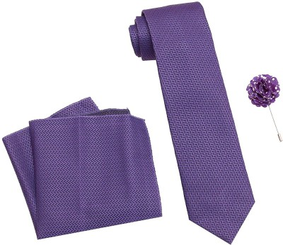 AXLON Satin Tie Pin Set(Purple)