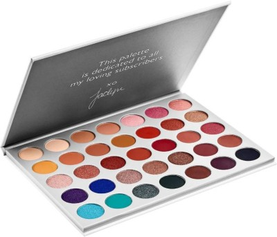 DPDM big eyeshadow pallete with all colors smokey nude vibrant color full makeup pallete 250 g(multicolor)