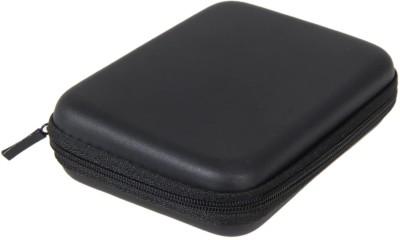 ECOBELL Back Cover for 2.5 inch External Hard Disks 2.5 inch External Hard Disk Cover(For External Hard Drive, Black)