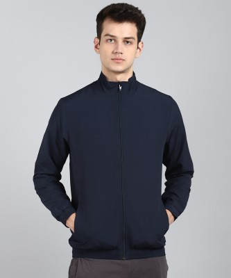 Asics Full Sleeve Solid Men Jacket