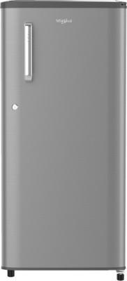 Whirlpool 190 L Direct Cool Single Door 4 Star (2020) Refrigerator(Magnum Steel, WDE 205 PRM 4S INV MAGNUM STEEL)
