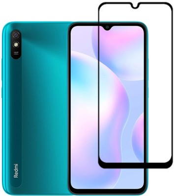 Icod9 Edge To Edge Tempered Glass for Redmi 9A(Pack of 1)