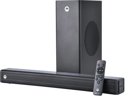 MOTOROLA AmphisoundX with HDMI ARC 100 W Bluetooth Soundbar(Black, 2.1 Channel)