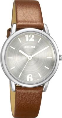 SONATA 8172SL02 Analog Watch - For Women