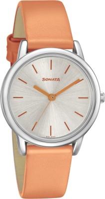 SONATA 8172SL04 Analog Watch - For Women