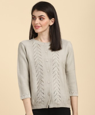 PARK AVENUE Women Button Cardigan