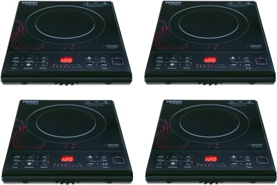 USHA IC3616 PACK OF 4 Induction Cooktop(Black, Touch Panel)