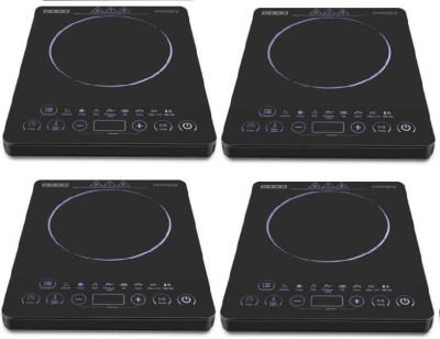 Usha IC 3820 PACK OF 4 Induction Cooktop(Black, Touch Panel)