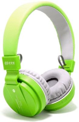 FPX Trip Go- Wireless Bluetooth Headset Bluetooth Headset(Green, On the Ear)