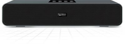 Ubon SP-70 Bluetooth Speaker 10 W Bluetooth Soundbar(Silver, Stereo Channel)