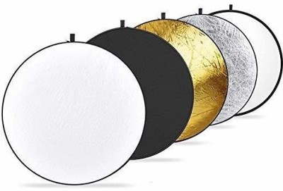 """Powerpak 42"""" 5 In 1 Light Disc Panel 110 cm Collapsible Reflector(Pack of 1) 1"""