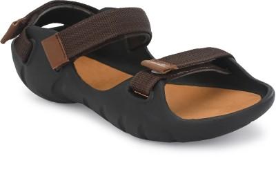 SIRDOCK Men Brown Sandals