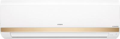 Hitachi 1.5 Ton 5 Star Split Inverter AC - White, Gold(Kashikoi 5100X R410A RSOG518HCEA, Copper Condenser)