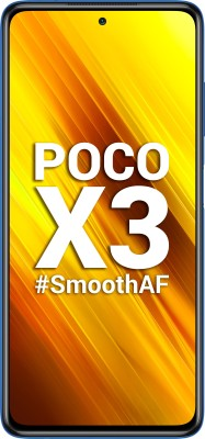 POCO X3 (Cobalt Blue, 128 GB)(8 GB RAM)