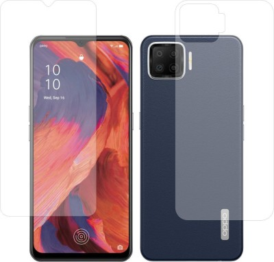Fashion Way Front and Back Screen Guard for Oppo F17(Pack of 2)